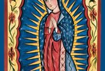 Our Lady of Guadalupe, Hail Mary, full of grace / by Angie Nations