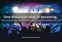 1000 Young Adult Tales / One thousand tales of becoming..  Tales of young people rising to life's challenges, no matter the obstacles in their way