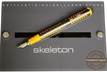 Delta Pens / Delta Pen founded by 3 Italian visionaries craft exceptional writing instruments made of precious metals, celluloid and ebonite.