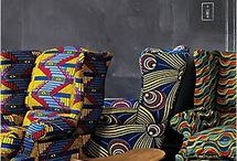 Furniture + African Textiles / Furniture + African Textiles