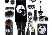 Ropa emo/punk/gotic