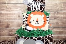 Safari Theme Baby Shower Ideas / Best Inspiration Ideas for throwing a safari jungle theme baby shower!