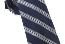 Fall Trend: Texture / When knotting up for cooler weather, grab one of these tweed-inspired ties. $19 each at TheTieBar.com
