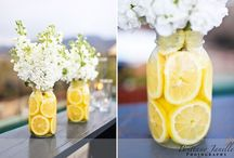 Yellow Wedding Ideas / yellow wedding ideas, yellow party, yellow wedding invitations, yellow decorations