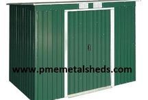 Sell Storage Sheds Metal Sheds 4 x 6 ft Pent Roof Outdoor Storage Shanghai China / Metal Sheds, Garden Sheds, Pent Metal Shed, Outdoor Shed PME metalsheds(a)126.com 4 x 6 ft metal shed is ideal for securely protecting and storing garden essentials. Size: Depth 4 ft x Width 6 ft x Height 6 ft Dimensions: Depth 1210 mm x Width 1940 mm x Height 1810 mm Shanghai Passion Machinery Equipment Co., Ltd.  www.pmemetalsheds.com