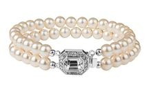 Bracelets / A stunning collection of vintage inspired bracelets, made with ornate Swarovski crystal clasps and pearls. Perfect for brides or given as a gift to someone special.