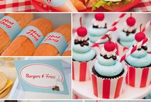 Diner birthday party / by Jacque Burge