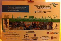 Jornadas Movilidad Sostenible / Transport Learning. Jornadas de movilidad sostenible. A pie y en bicicleta.