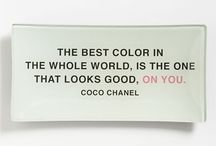 Quotes on fashion and style.