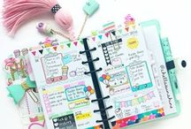 agendas planners cadernos