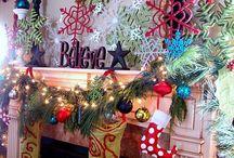 Christmas: Mantel Decorations