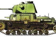 Italian Tank colours