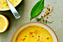Soup / A board for soups