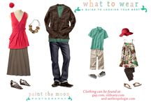 #Photography Tips | What To Wear / Tips and ideas on what to wear or what to have your subjects wear for photo sessions