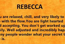 The meaning of the name Rebecca