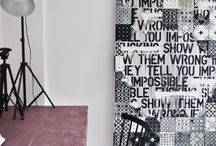 Tile decor / Inspirational board on how to use tiles in your interior decoration