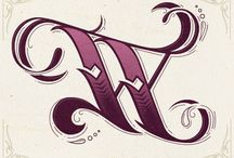 Monograms and Decorative Letters