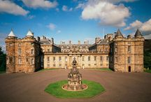 Palace of Holyrood  House Edinburgh. / The official residence  of Her Majesty the Queen in Scotland