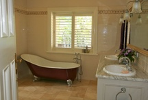 Bathroom Ideas / Inspiration and ideas for a beautifully designed and appointed bathroom, including ensuite, children's bathroom and powder room. / by Inside Out Colour and Design