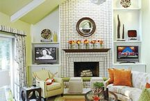 Homespiration: Great Room / by Cassie @ Back to Her Roots