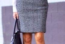 Outfity Se Sukní