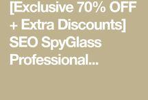 SEO SpyGlass Professional Christmas Sale