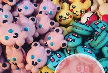 Pokérons (Pokémon Macarons) / All these images are owned by Maca,LLC. If shared please give @macaboston credit for the creativity and hard work put into these macarons!