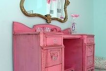 Girls rooms for new house / by Casey Sullivan