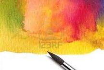Vannfarger akvarell inspirasjon