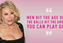 RIP funny lady, Joan Rivers. / by Cee Cee