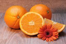 Orange / Gellé Frères vous propose de voir la vie en orange pour un moment plein de peps! Fermez les yeux et respirez!