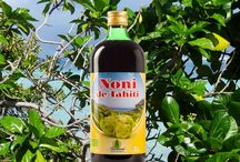 Noni de Tahiti / Martera Noni de Tahiti juice is 100% pure juice of sun ripened fruit of noni shrubs that grow in the fertile, mineral-rich volcanic soil of Tahiti. Only ripe fruit of certified organic origin is picked by hand and processed into juice in a traditional way.