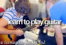What I did (bucket list)