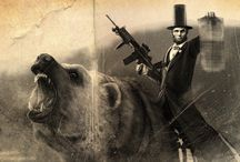 """Things I Found While Googling """"Bad Ass Abraham Lincoln"""" / by Grace Duffy"""