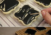 Chalkboard cookies And cakes