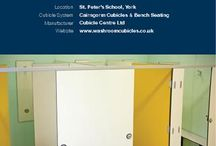 School Washrooms / Ideas to make your school washrooms and toilets fantastic.