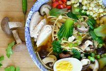 Noodle soups / Pho, Ramen, dumpling soup, etc.