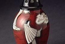 Paint perfume bottles