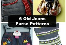 Sewing (old Jeans) Patterns