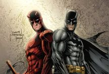 Crossover comic heroes / by Nick Stone