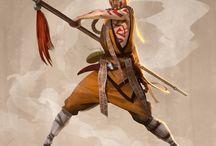 Personagens Monk