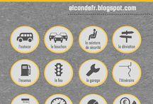 Vive le français - les transports / Vocabulaire et expressions du domaine des transports