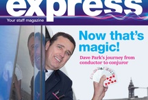 TPE Staff Stories / From magicians to scuba-divers, staff at First Transpennine Express have some very stories to share. Here's some snippets from our internal magazine, The Express!  / by First TransPennine Trains