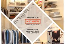 NY NOW / RANI ARABELLA would like to invite you to NY Now - New York Gift Show on Feb 1-4 at Jacob Javits Center
