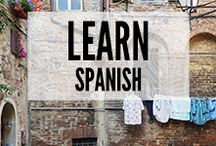 Learning Spanish / Learning Spanish hints and tips