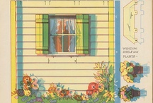 Doll Houses / Paper etc Doll houses and Furniture