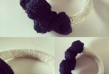 contemporary jewelry. textile art, my work. follow me! @mariakesmam