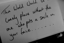"""Music makes the world go round"""