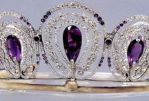 sparklies of the formal type / Crowns, tiaras, crown jewels, formal parures, etc / by Dawn G