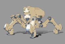 Mechs and Robots